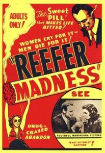 Poster for the movie Reefer Madness